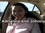Jones and Adrianna Go by Car to the Park to Fuck