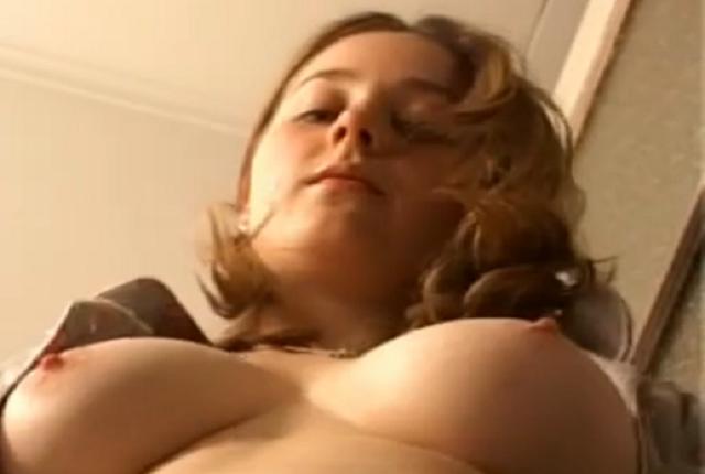 Masturbation Hairy Pussy and Round Soft Tits