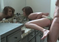 Cute Nika Noire Gets a Hard Fucking in the Bathroom of Her Boyfriend