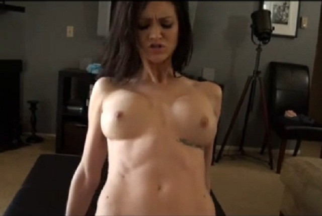 Beautiful brunette Kendall Karson has POV fucking
