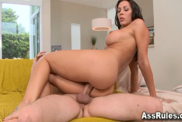 Busty Rachel Starrs With Juicy Ass Perfect Rides Hard Cock