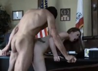 Beautiful Raven Alexis Seduces Guy and Gets His Hard Cock