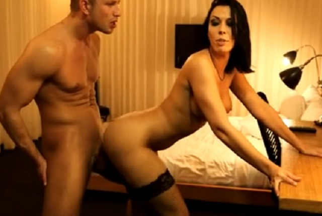 Hot Brunette Rachel Starr Fucks in Hotel Room for Money