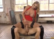 Beautiful Busty Blonde Squitrs While Fucking Hard