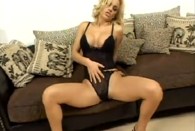 Nasty Busty Blonde Britney Gets a Hard Fucking