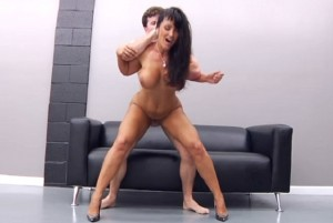 Sexy Boss With Massive Tits Lisa Ann Gets Rough Fucking in the Office