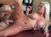 Diamond Foxxx Hot MILF With Huge Balloons Pounding in the Office