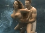 Underwater Sex With Busty Brunette Holly Halston