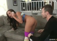 James Deen Ripped Petite Teen Brunette