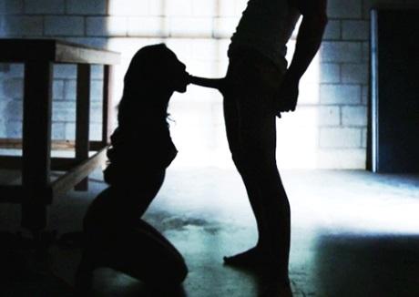 Hot sex in warehouse Johnny Sins and Asa Akira