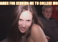 Sex party on college