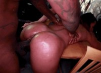 Ebony Power Fucking Rico Strong and Teanna Trump
