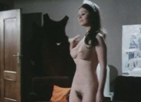 House maid with big naturals gets nude in vintage movie