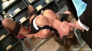 Sex Games Between the Chief and Milf Secretary Madison Ivy