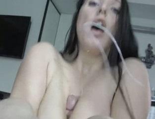 Pov blowjob titfuck facial