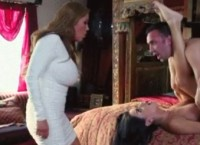 Hot MILF Kianna Dior Caught Her Stepdaughter in Sex Then Fucked Her Bf