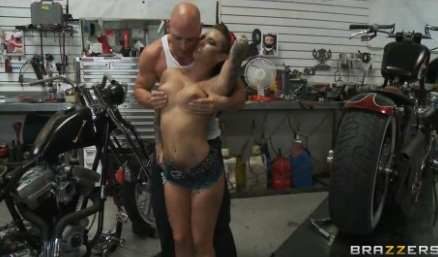 Christy Mack Fucked by Horny Biker Johnny Sins