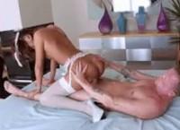 Hot Bunny Alina Li Stunning Cockridng Skills