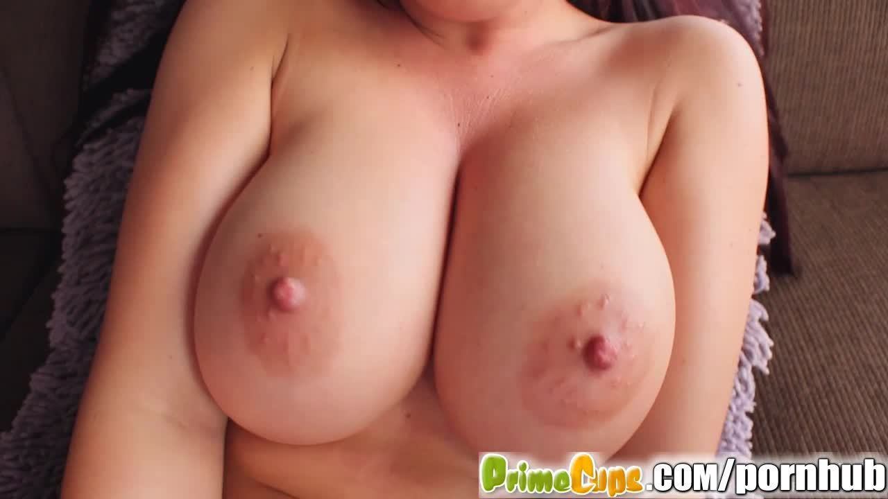Prime Cups Big Tit Girl Cums Twice While Masturbating