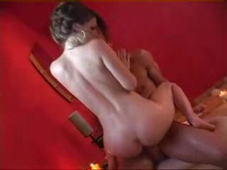 Elegant Brunette Fucked in the Bathroom