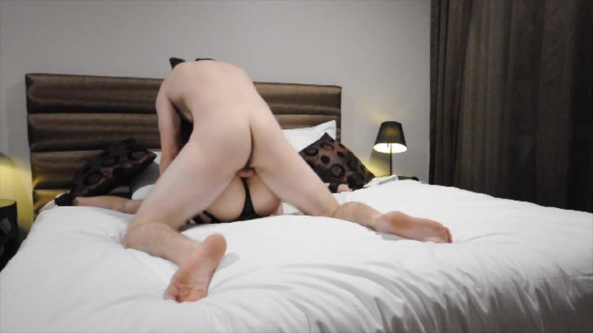 Horny Girlfriend Tied Up and Teased