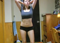 Amateur hot babe with big natural boobs Tess Ellen