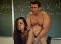 Naughty schoolgirl Yurizan Beltran seducing teacher