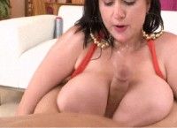 Fat woman gets fucking in huge boobs