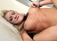 Extremely rough anal sex for Amy Brooke