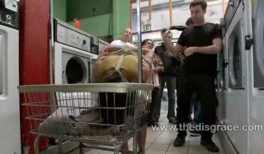Fucked in public laundromat