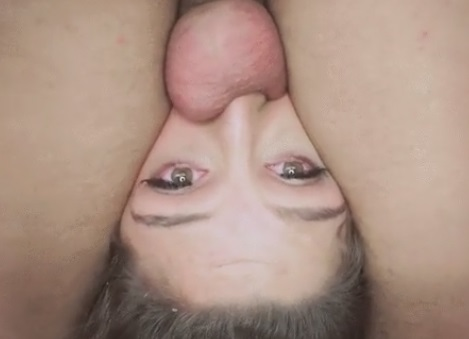Extreme deepthroat and anal for college girl