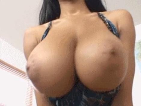 Ebony Tyra Moore gets tittyfuck POV