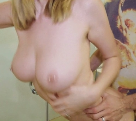 Pierced boobs Anya Amsel fucked at the party