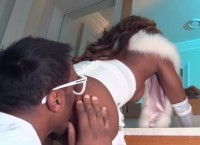 Ebony babe Jasmine Webb gets black monster cock fuck
