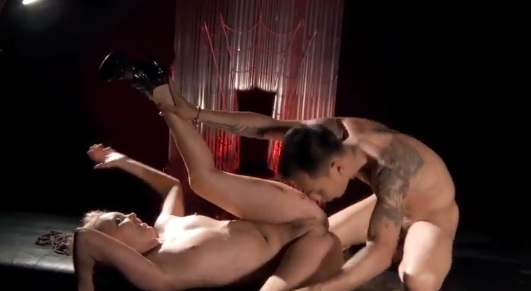 Aaliyah Love hardcore doggystyle fuck
