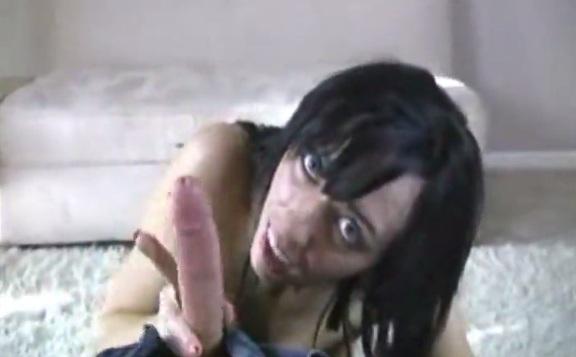 Alia Janine gets titty cumshot POV
