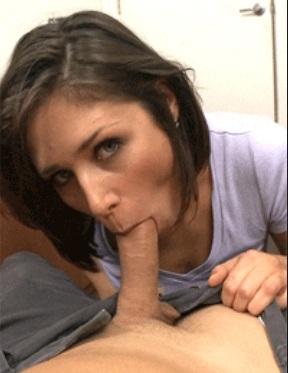 Anastasia Morna perfect POV cock sucking