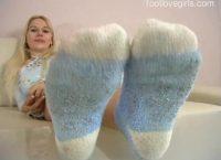 Jenny's Sexy Socks Feet